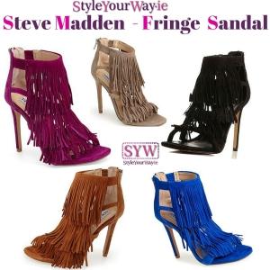 stevemadden,steve,madden,fringe,hotness,love,sandal,fringe,ontrend,autumn